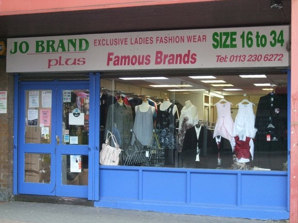 Jo Brand Clothing Leeds
