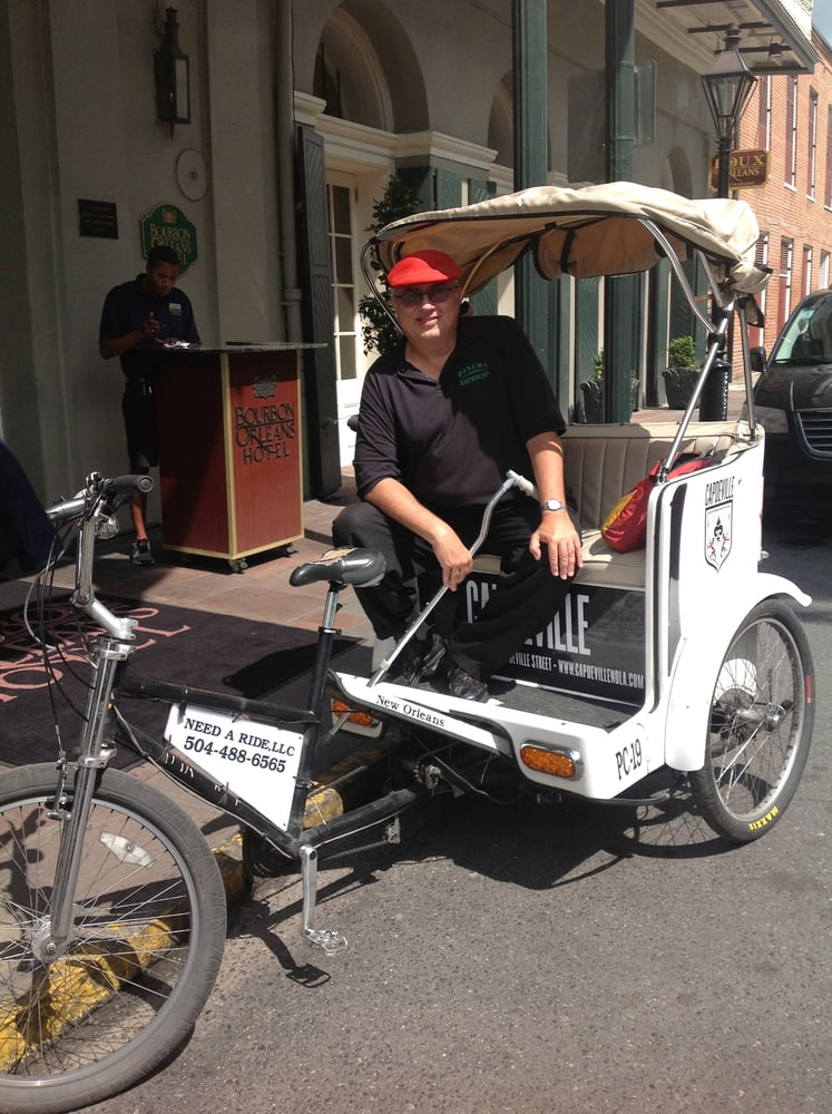 Need A Ride Pedicabs