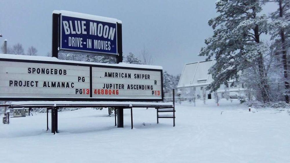 Blue Moon Drive-In Theater: 4690 US Hwy 43, Gu-Win, AL