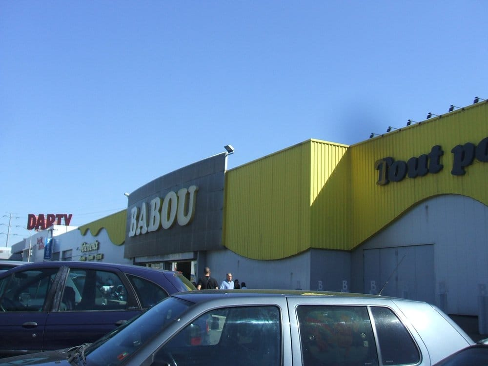 Babou centre commercial 6 all e savoies v nissieux for Babou telephone