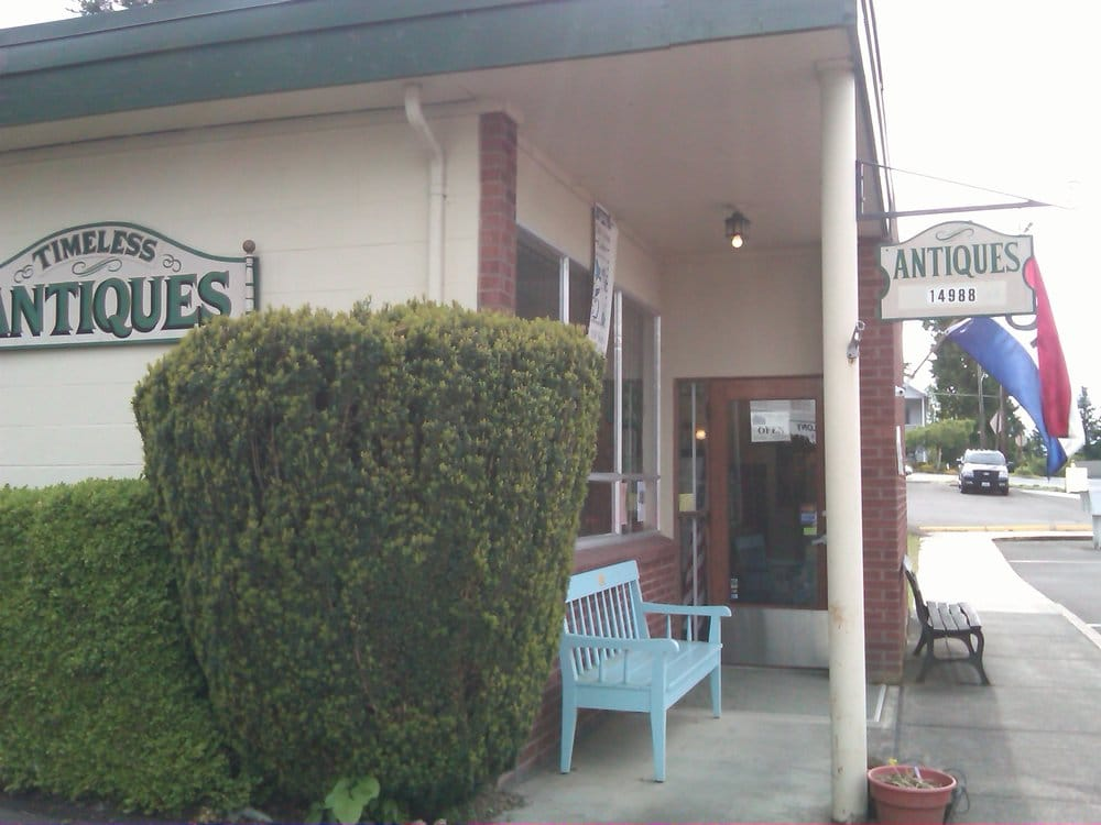 Timeless Antiques & Collectibles: 14988 2nd St NE, Aurora, OR