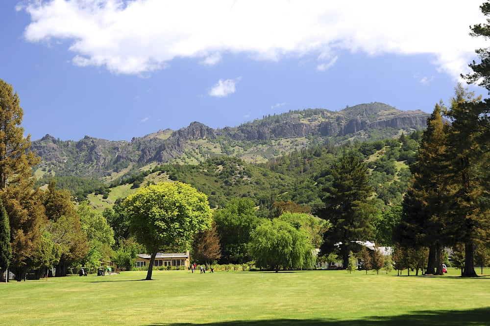 Mount St Helena Golf Course