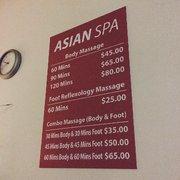 Asian ca in massage oxnard parlor