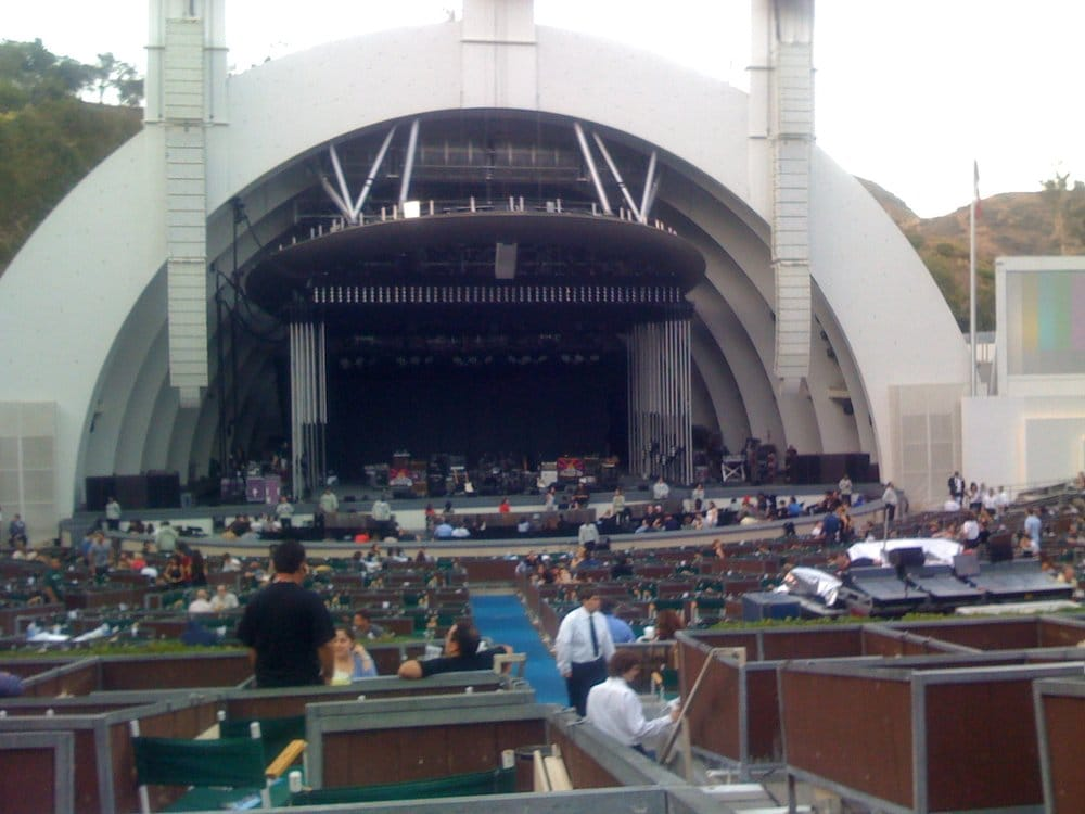Terrace box seats for radiohead yelp for Terrace 2 hollywood bowl