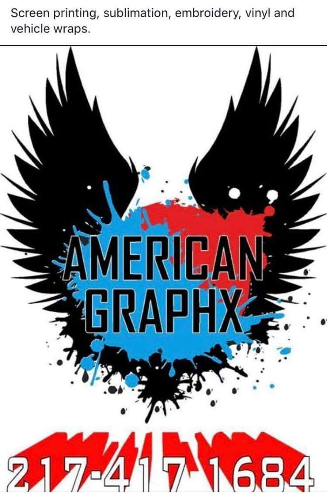 American Graphx: 2114 Fogel Rd, Mahomet, IL