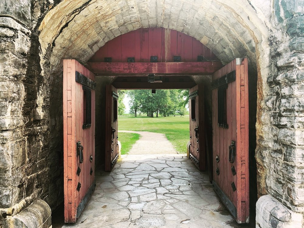 Fort de Chartres: 1350 State Rt 155, Prairie Du Rocher, IL
