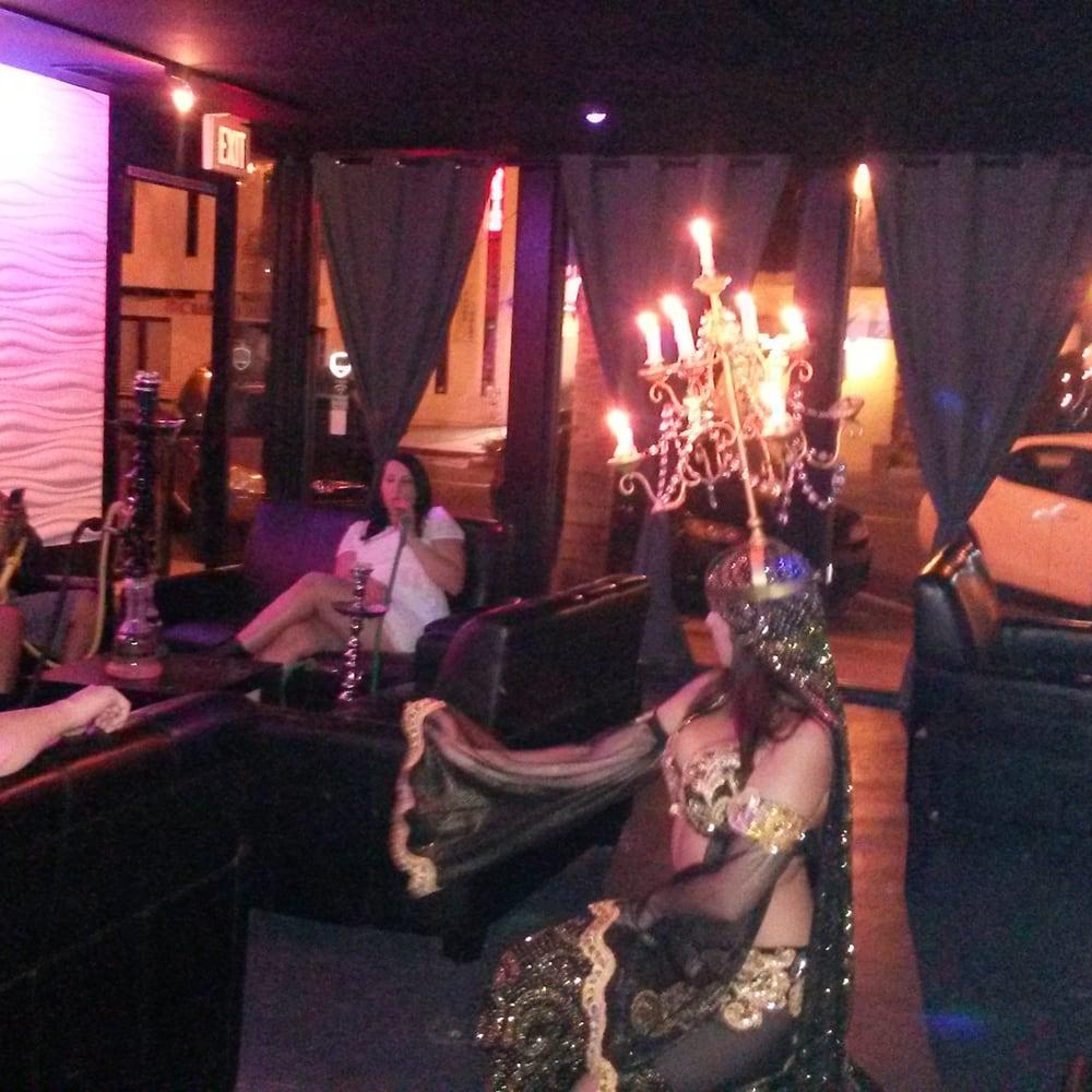 Belly dancing night at aria hookah lounge yelp - Shisha bar lounge mobel ...