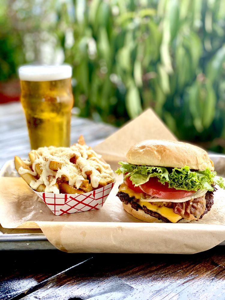 The Barcelona Burger and Beer Garden