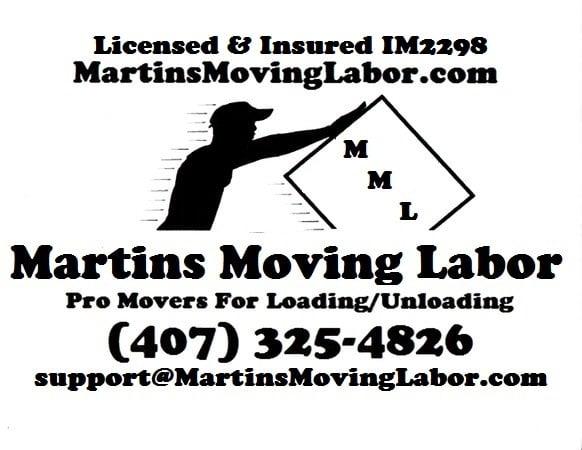 Martins Moving Labor