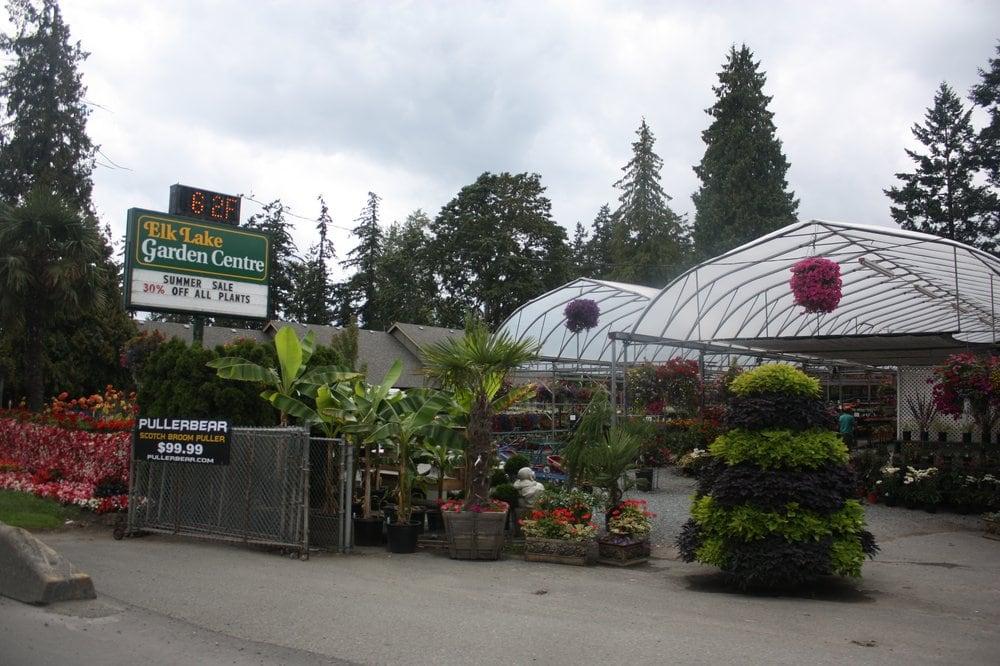 Elk lake garden centre 5450 patricia bay hwy victoria for Garden shed victoria bc