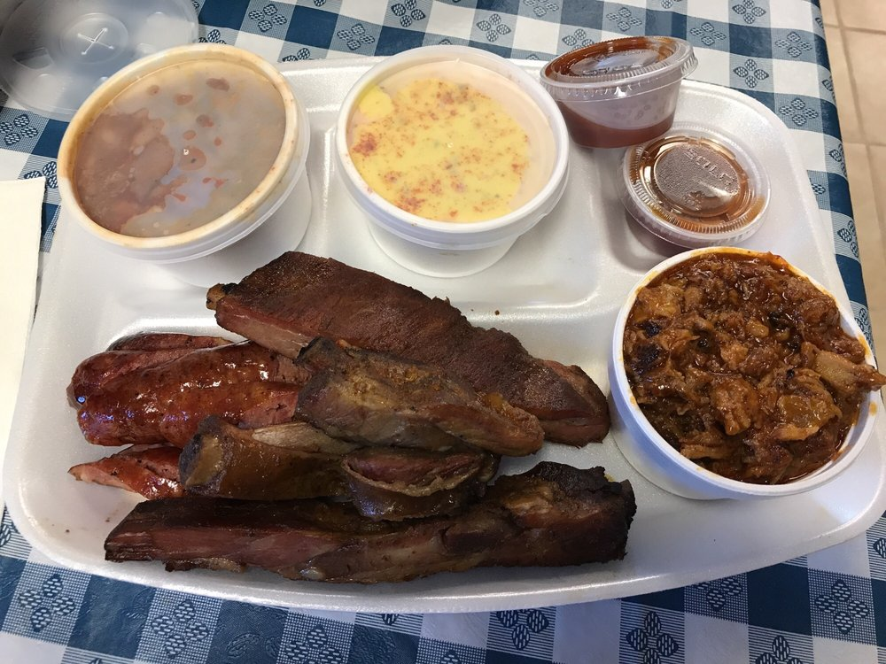 Our Place BBQ: 10519 Hwy 59 N, Corrigan, TX