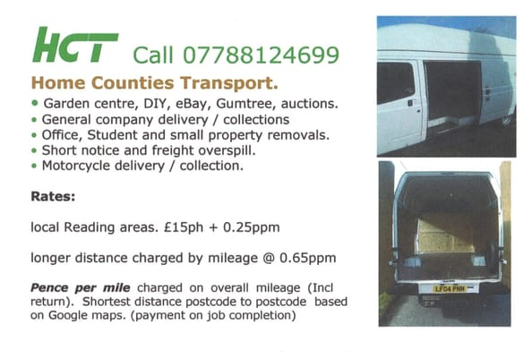 Home Counties Transport - Couriers & Delivery Services - 32