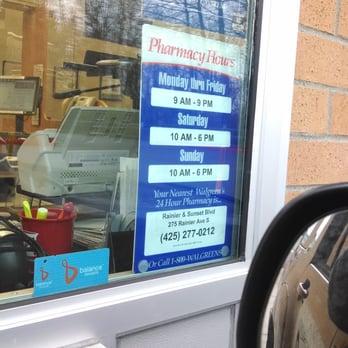 Walgreens - 19 Reviews - Drugstores - 4105 NE 4th St, Renton, WA ...