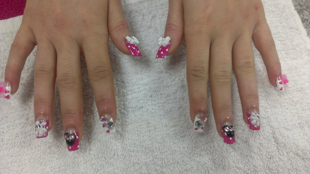 Japanese blingy nails by karen - Yelp