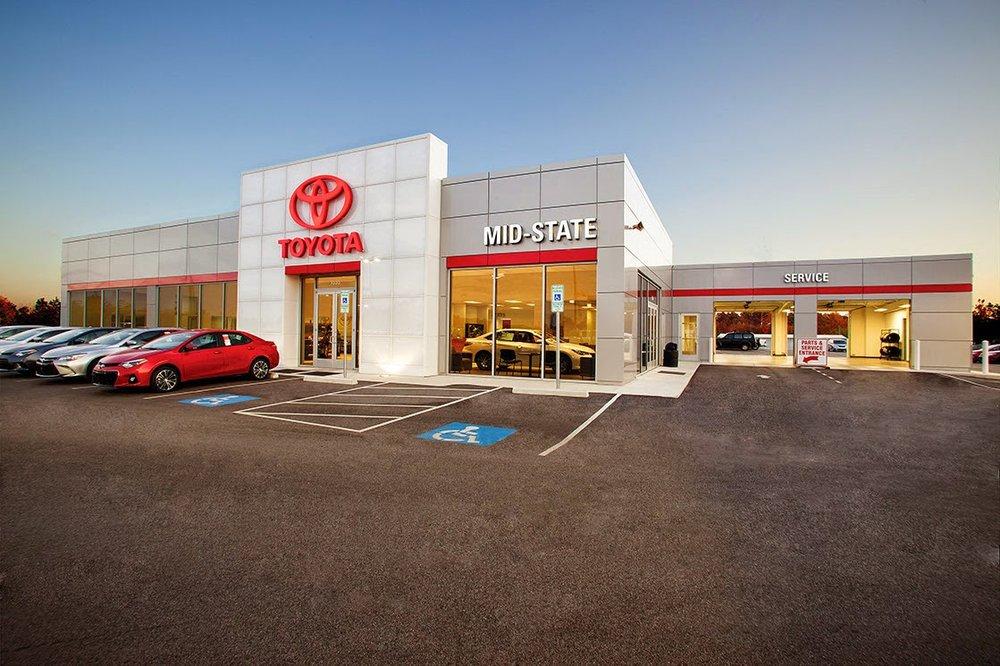 Midstate Toyota: 1636 E Dixie Dr, Asheboro, NC