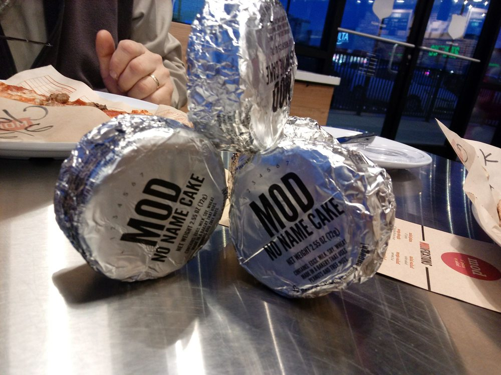 Food from MOD Pizza