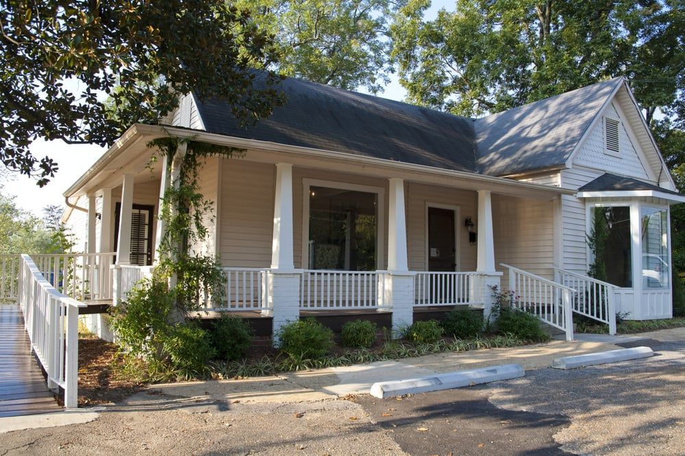 La Rousse Is Located In An Old Southern Home Just Off Oxfords