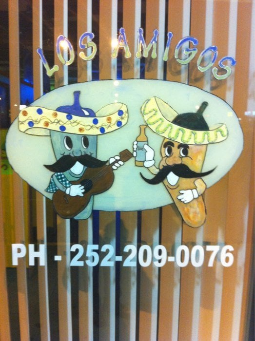 Los Amigos Mexican: 1325 Memorial Dr E, Ahoskie, NC