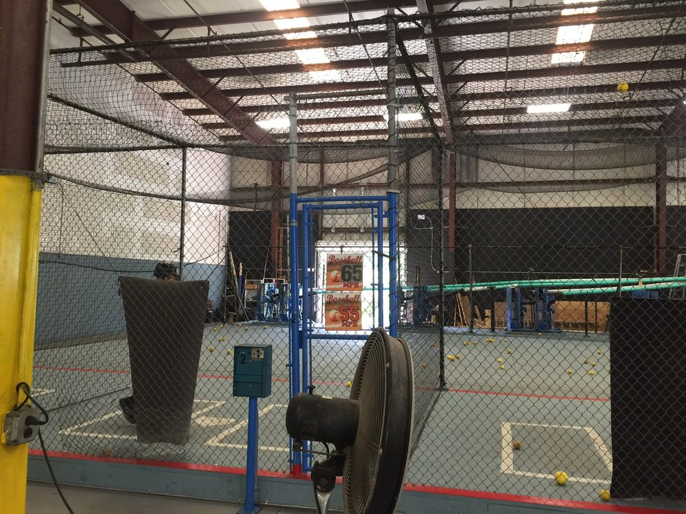 Photos for Lebron\'s Indoor Batting Cages - Yelp