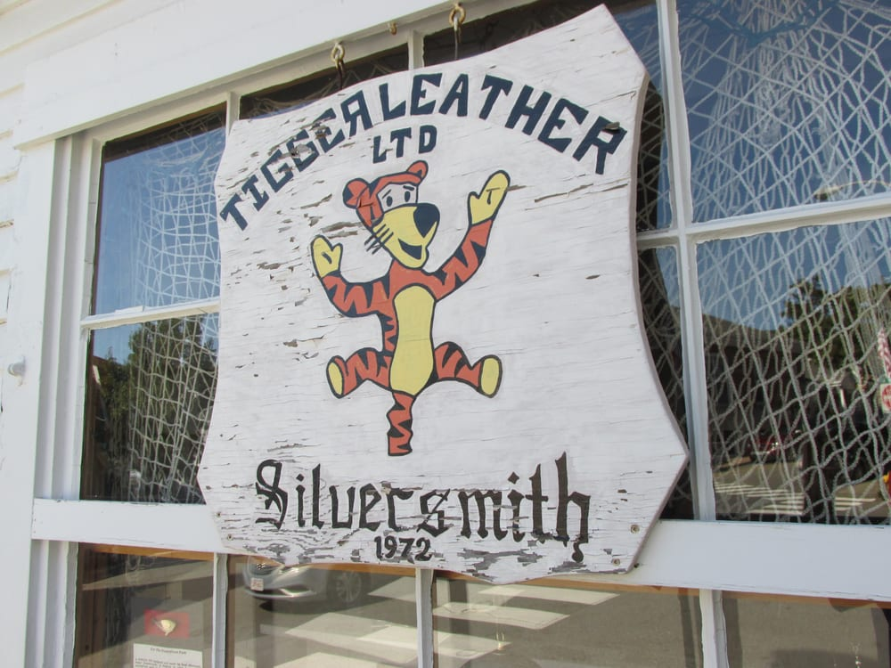 Tigger Leather Silversmith: 1 Commercial St, Boothbay Harbor, ME