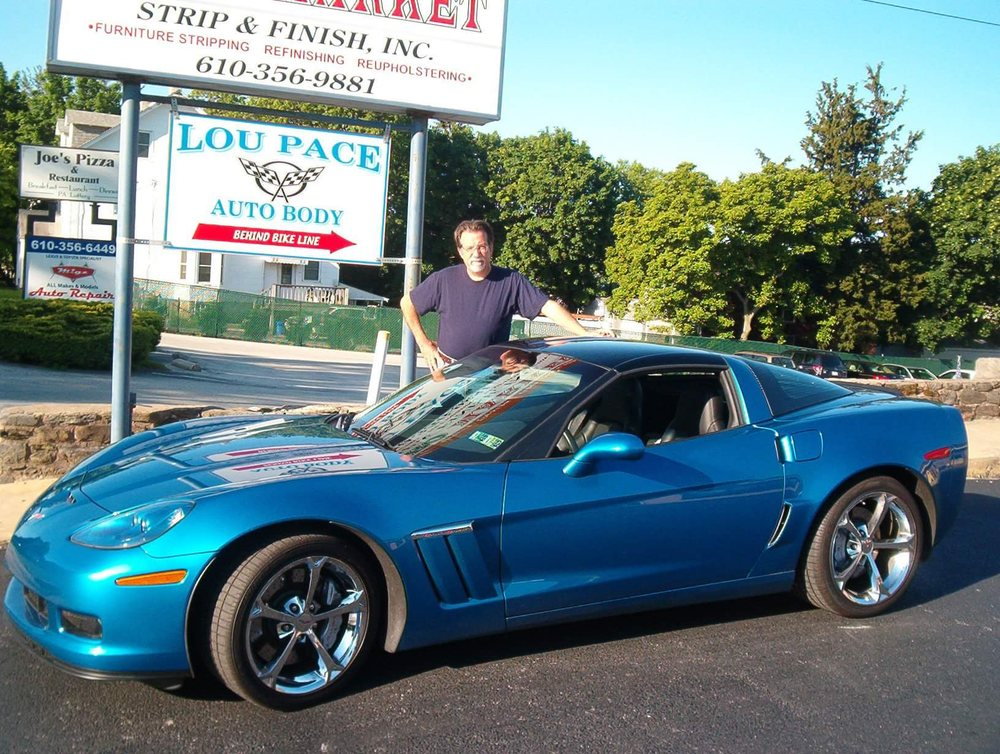 Pace Lou Auto Body: 24 S Sproul Rd, Broomall, PA