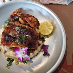 Photo Of Salty Farms Seafood Restaurant Ormond Beach Fl United States Grilled