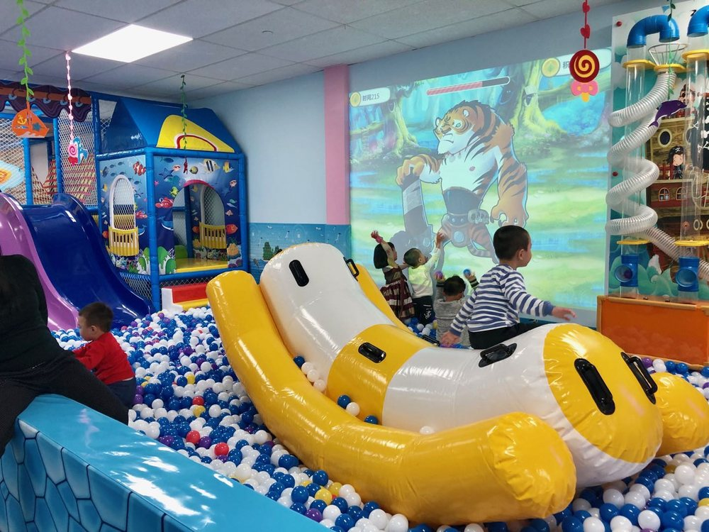 Poly Poly Fun Children's Indoor Playground: 82-23 Queens Blvd, Elmhurst, NY