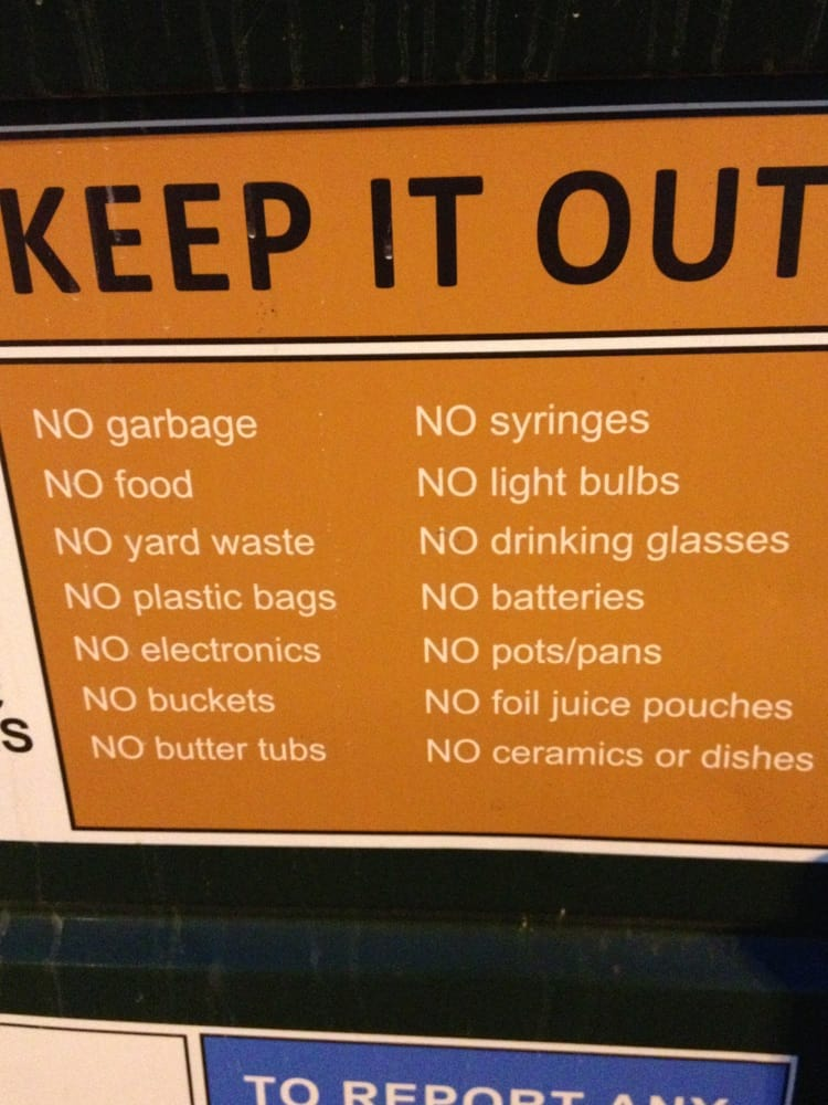 Recycling Drop Off: 5858 Sawmill Rd, Columbus, OH