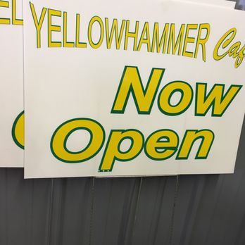 Yellowhammer Cafe Montgomery Al Menu