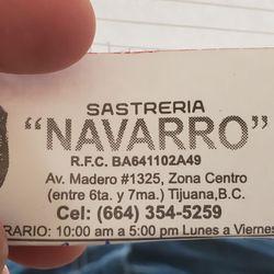 63795c858804 Sastreria Navarro - Sewing   Alterations - Av. Francisco I. Madero ...