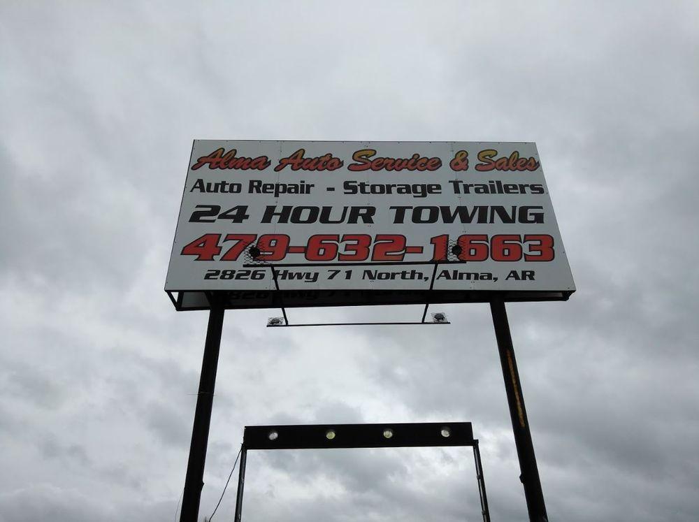 Alma Auto Service & Sales: 2826 Highway 71 N, Alma, AR