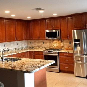 Photo Of Granix Stone San Marcos Ca United States Completed Kitchen With
