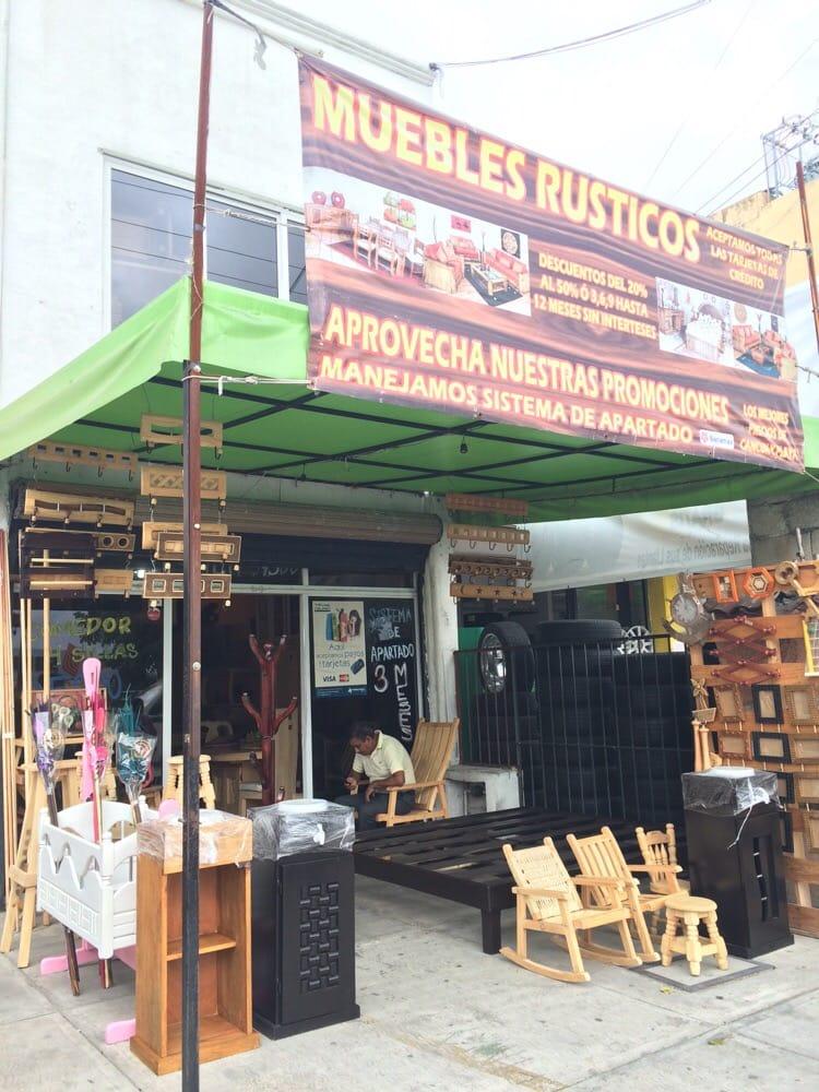 Muebles r sticos pinosur tienda de muebles av kabah for Actual muebles cancun