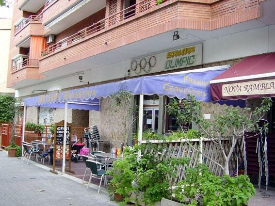 Brasseria Olimpic: Rambla Marquesa de Castellbell, 9, Sant Feliu de Llobregat, B