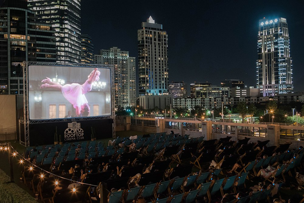 Rooftop Cinema Club, Houston