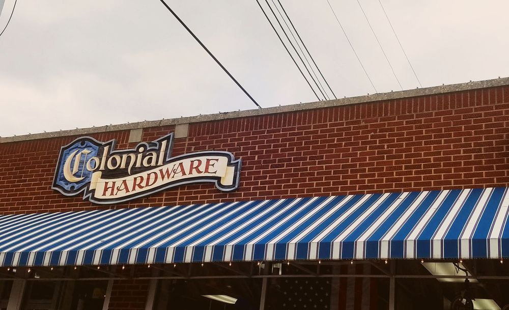 Colonial Hardware: 104 E Elm St, Graham, NC