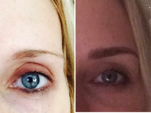 Before And After With Veronika Thank You For Giving Me Eyebrows