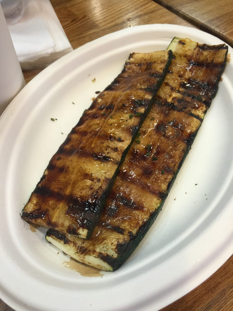 Grilled zucchini yelp for Fish dish burbank