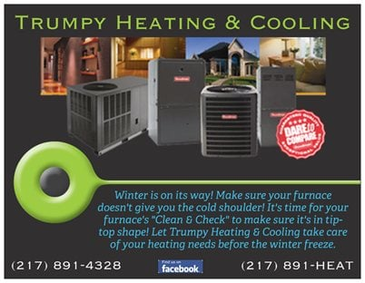 Trumpy Heating & Cooling: 500 Mulberry St, Chatham, IL