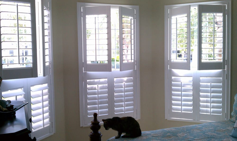 Double Hung Blinds : Double hung plantation shutters yelp