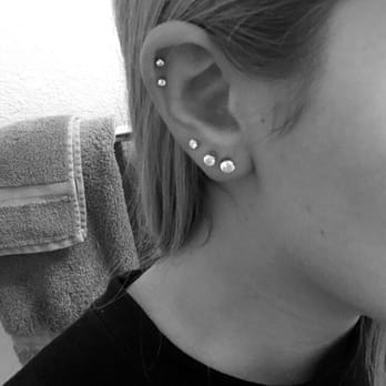 Double Helix Piercing By Kristina Yelp