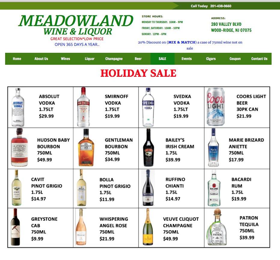 Meadowland Wine & Liquor - 44 Photos - Beer, Wine & Spirits - 280 ...
