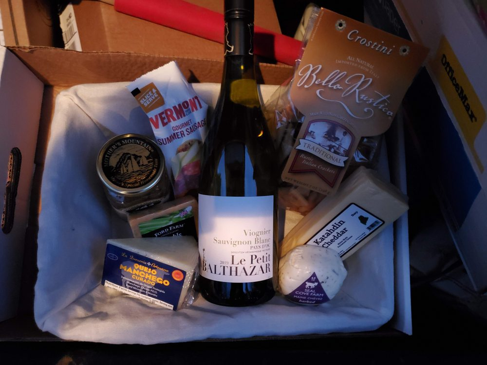 Social Spots from Bangor Wine and Cheese