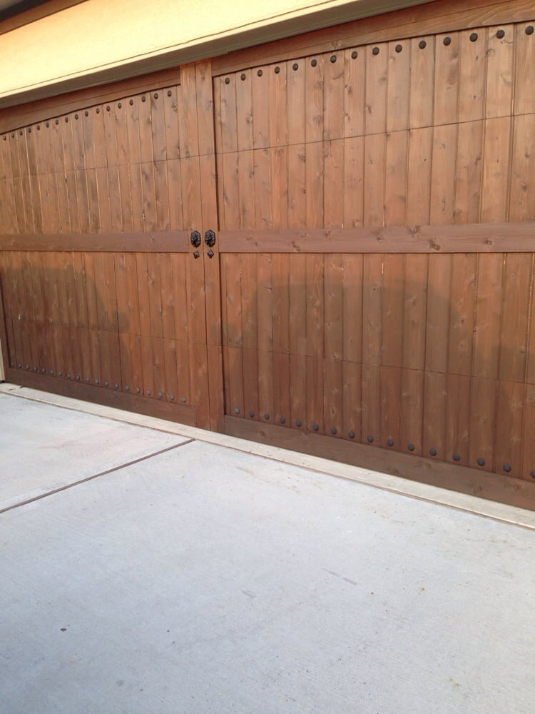 Beautiful custom garage door yelp for Beautiful garage doors