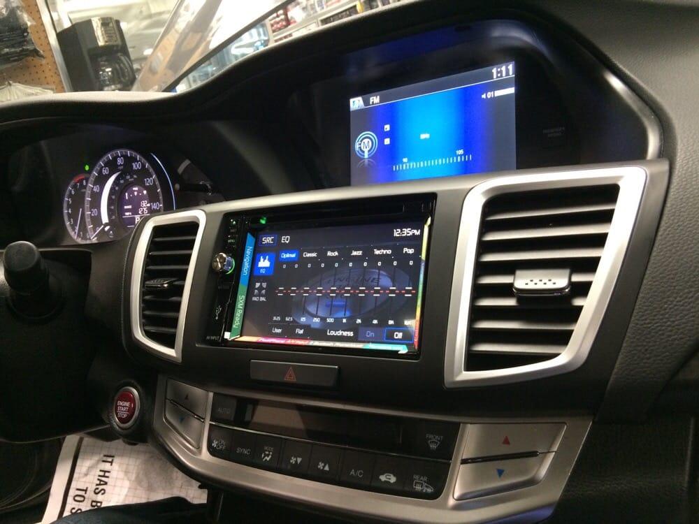 2014 Honda Accord aftermarket navigation system - Yelp