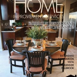 Home improvement services magazine print media 3936 for The home mag san diego