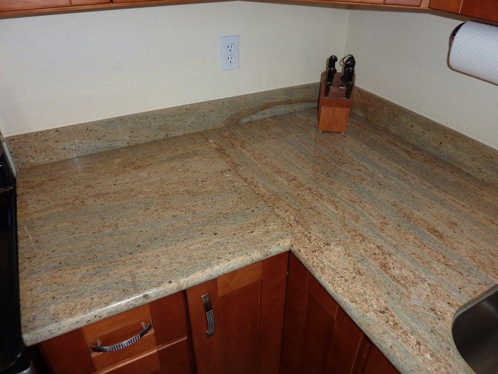 Granite Seam/joint Is Very Good. My