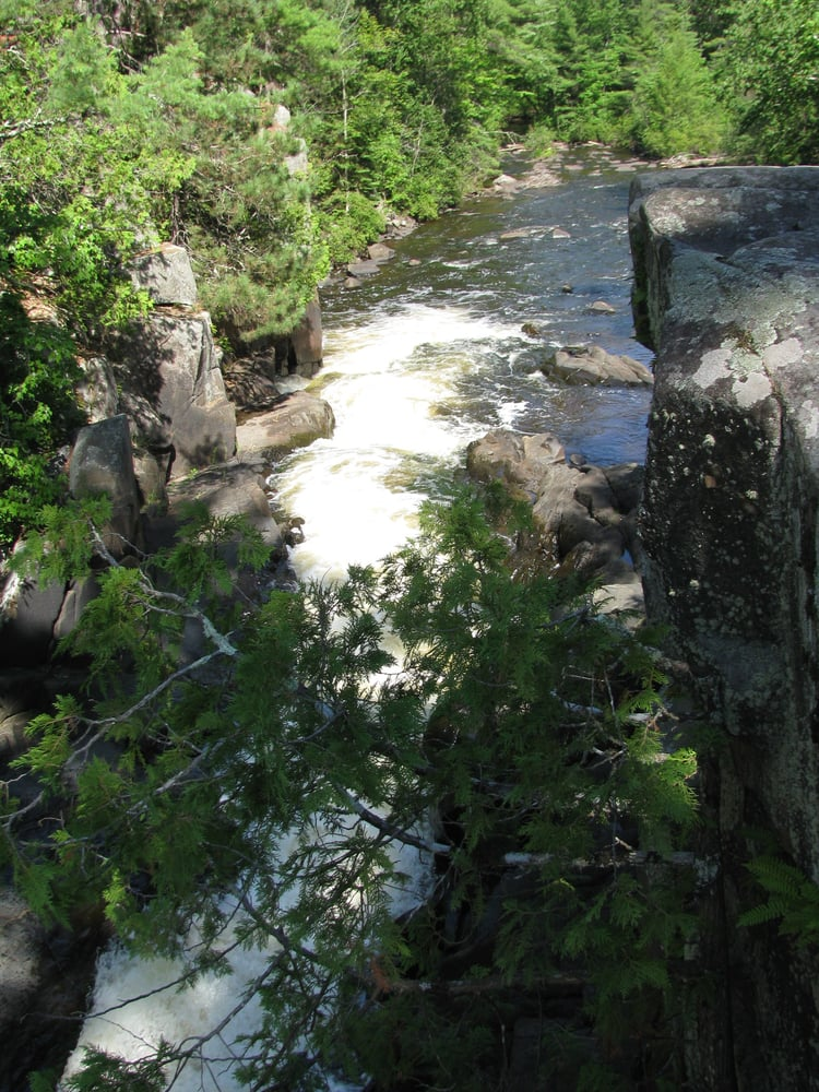 Marinette County Waterfalls: Marinette County Parks, Amberg, WI