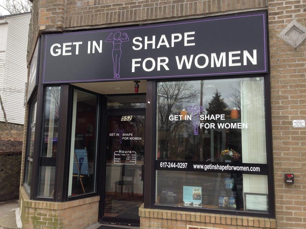Get In Shape For Women Westford Ma
