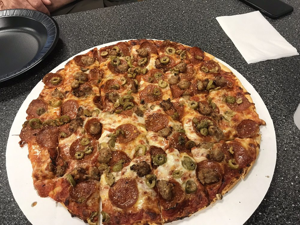 Little Italy Pizza: 488 E Canal St, Nelsonville, OH